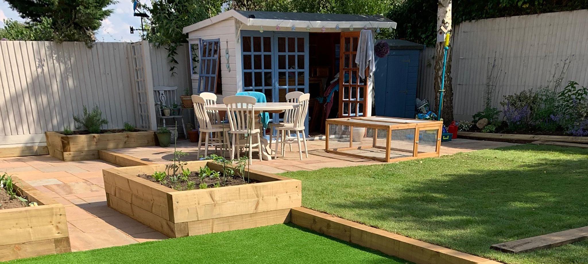 Children activity garden