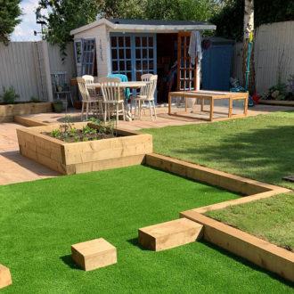 Childrens activity garden