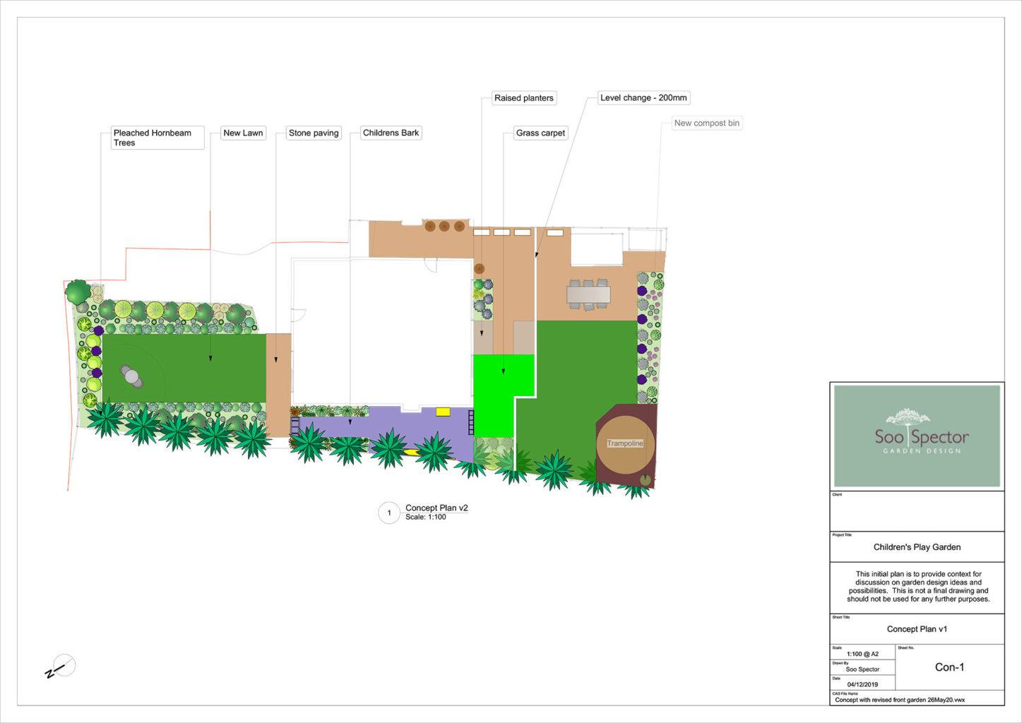 childrens activity garden plan