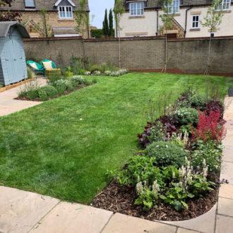 small garden development